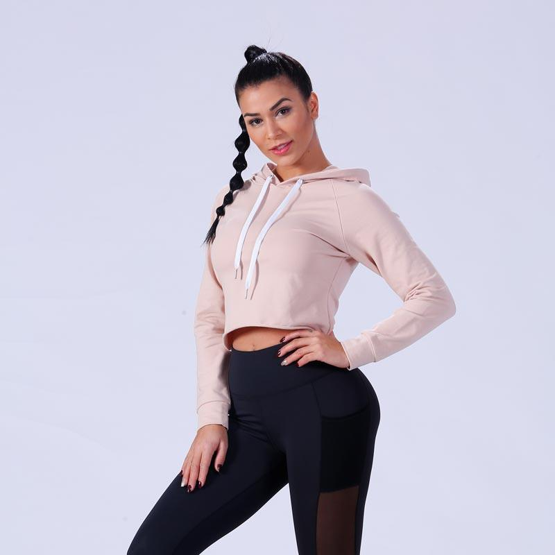 best ladies sweatshirts crop wholesale for training house