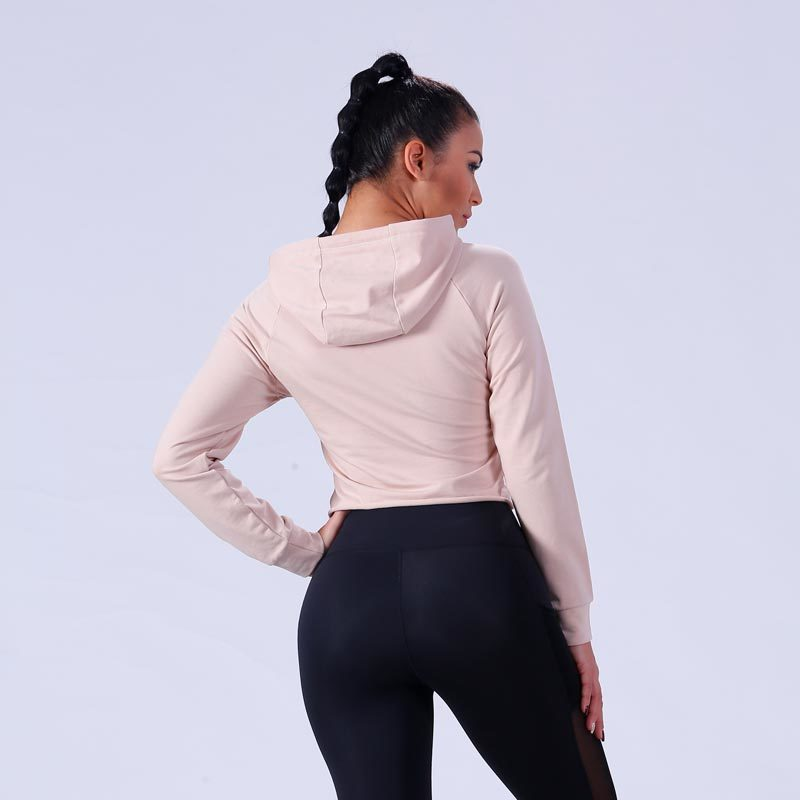 gym womens hoddies ODM service yoga room Yufengling