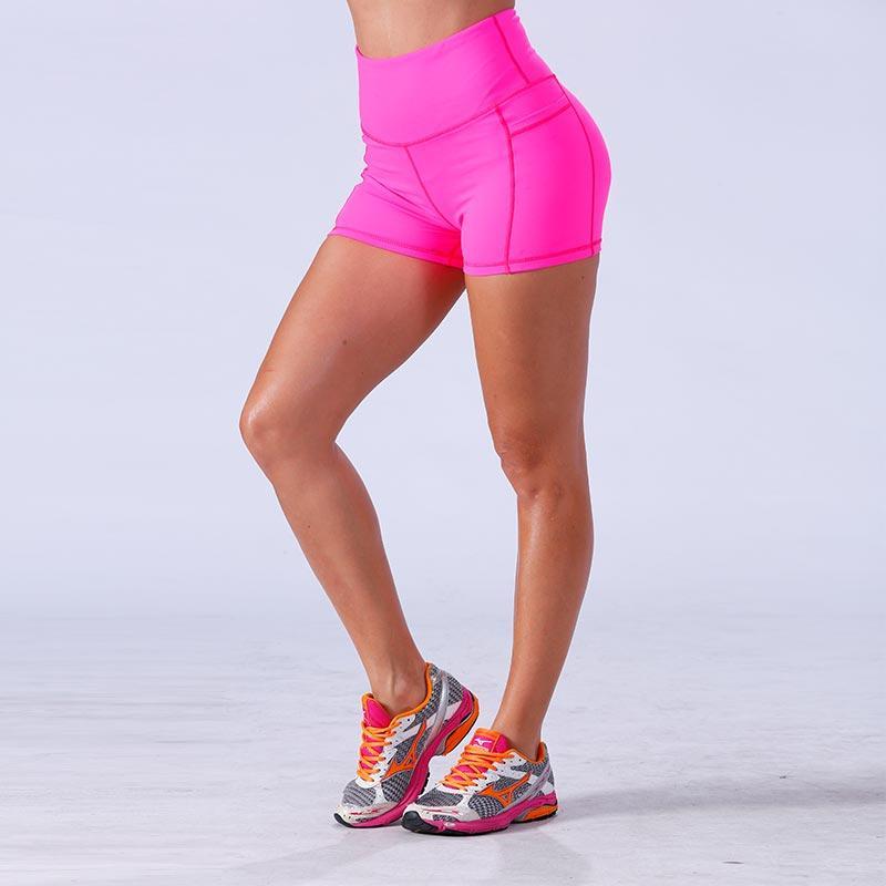 women fitness yogawear gym shorts YFLSHW01
