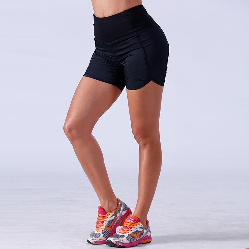Women bodybuilding athletic sports yogawear gym shorts YFLSHW02