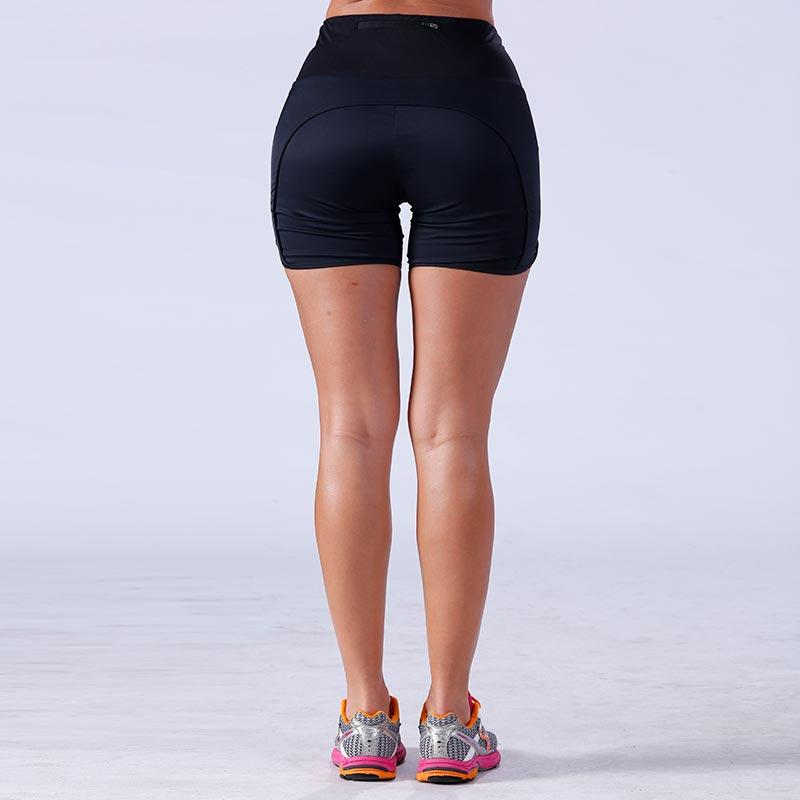 Women bodybuilding athletic sports yogawear gym shorts YFLSHW02