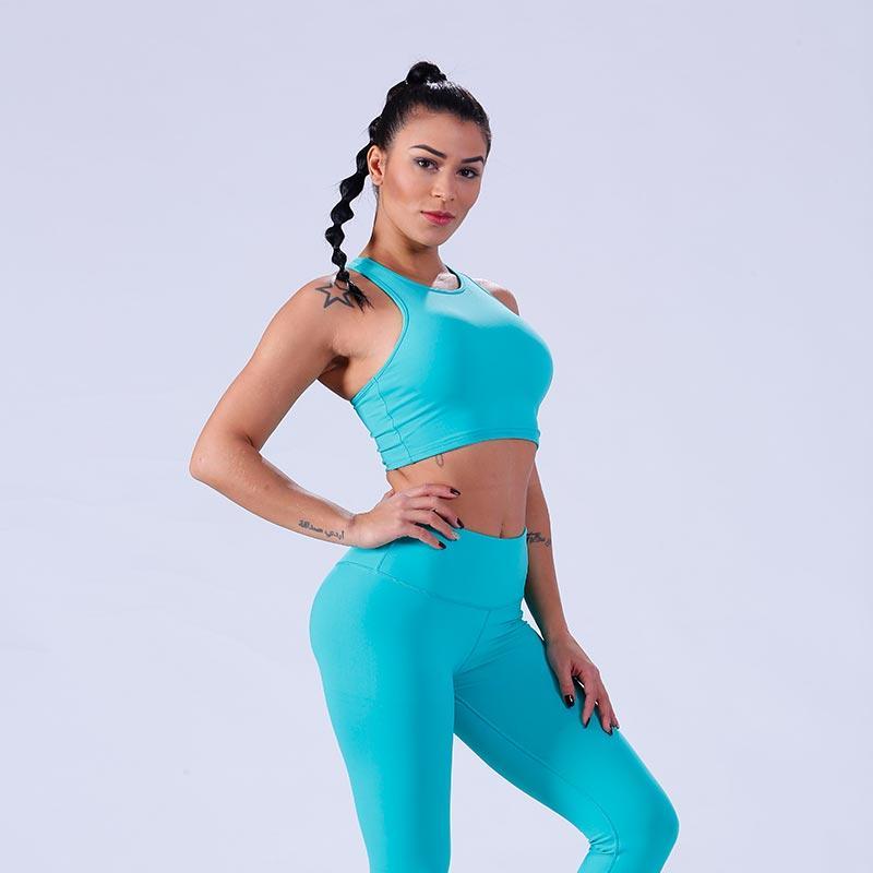 Womens ultimate running yoga fitness crop top sports bra  YFLSBW02