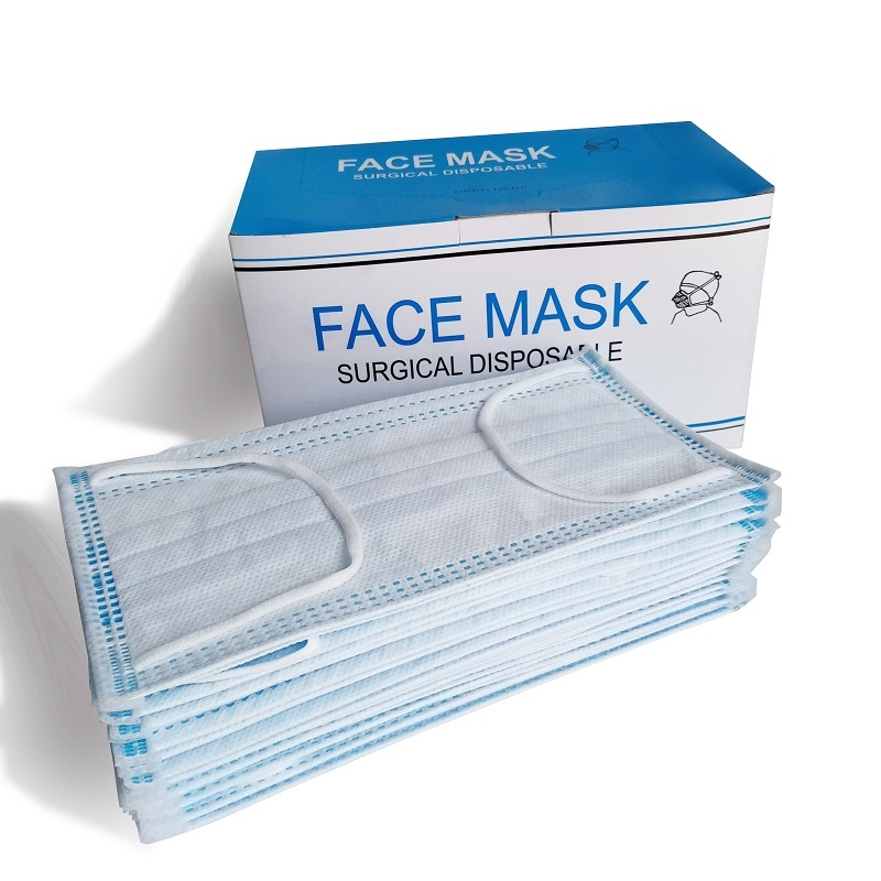 Wholesale Disposable 3 ply Non Woven Disposable Face Mask Good Price hot sale