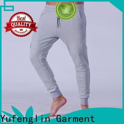 Yufengling stable mens jogger pants wrinkle free in gym