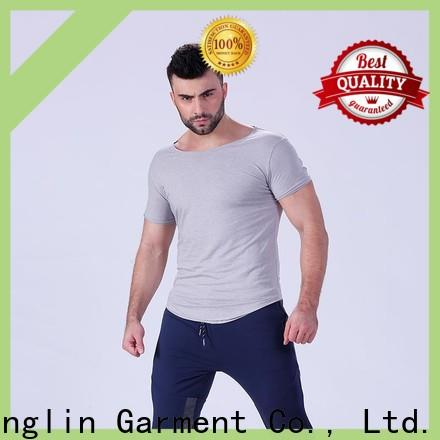 Yufengling hot-sale plain t shirts for men in different color for training house