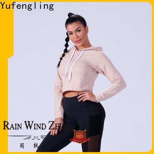 Yufengling popular womens sweatshirts sports-wear yoga room