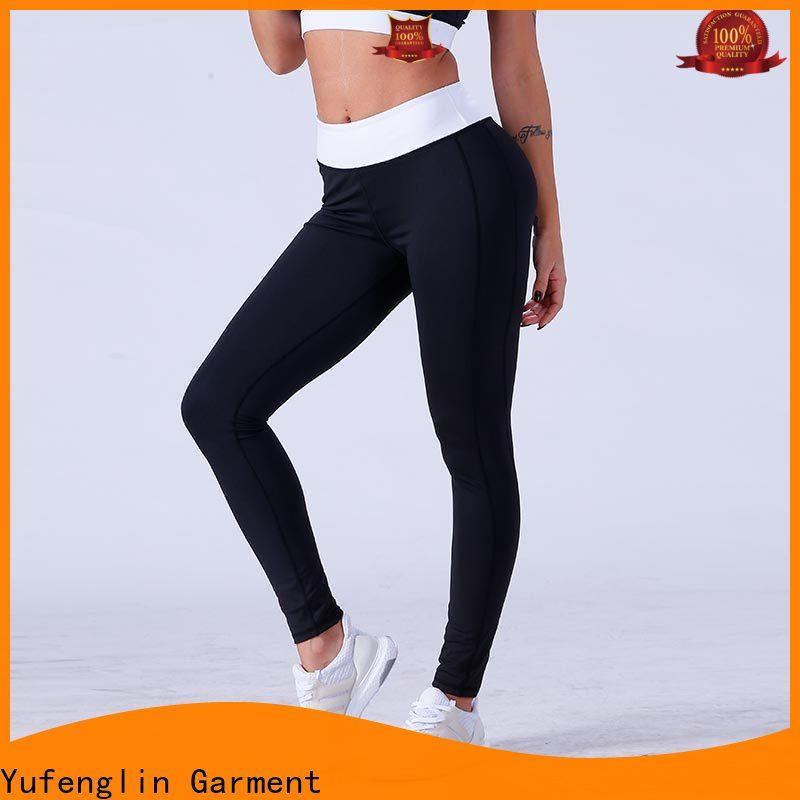 Yufengling fitness high waist leggings factory yoga room