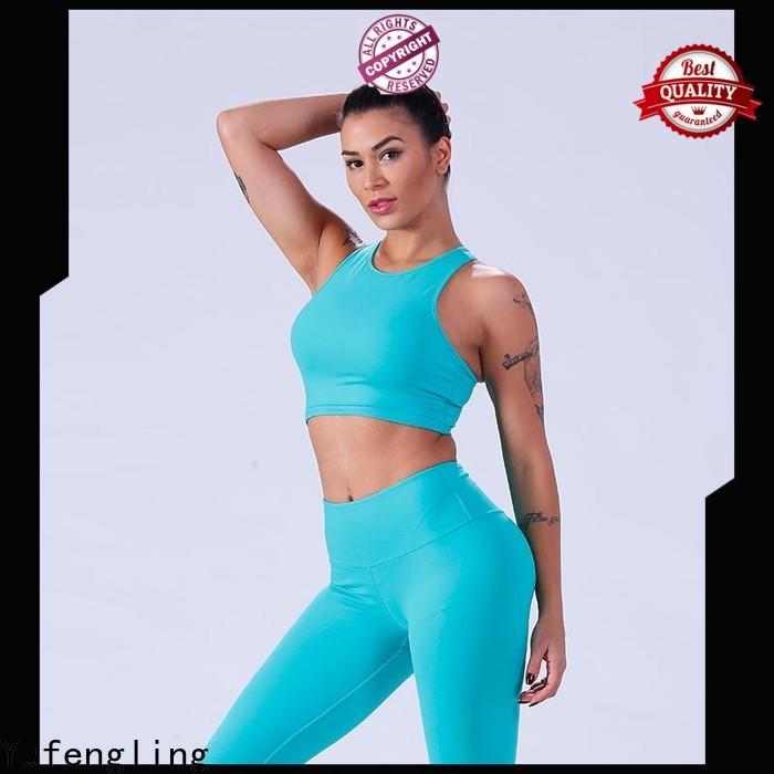 Yufengling new-arrival custom sports bra yoga wear workout