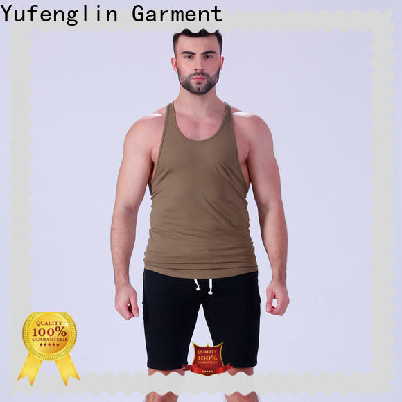 Yufengling new-arrival mens muscle tank sleeveless