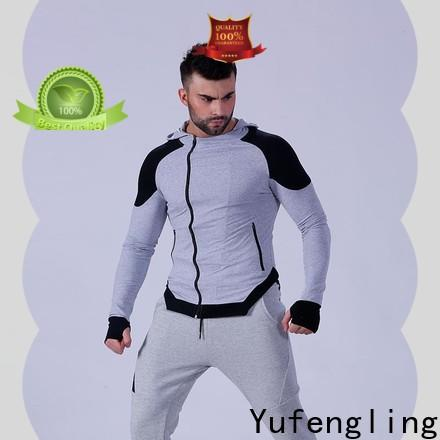 Yufengling exquisite best hoodies for men workout for jogging