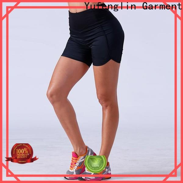 Yufengling bodybuilding womens workout shorts manufacturer yoga room
