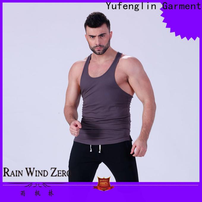 Yufengling sleeveless mens tank tops sleeveless for training house