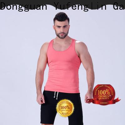 durable gym tank tops mens stringer casual-style for trainning