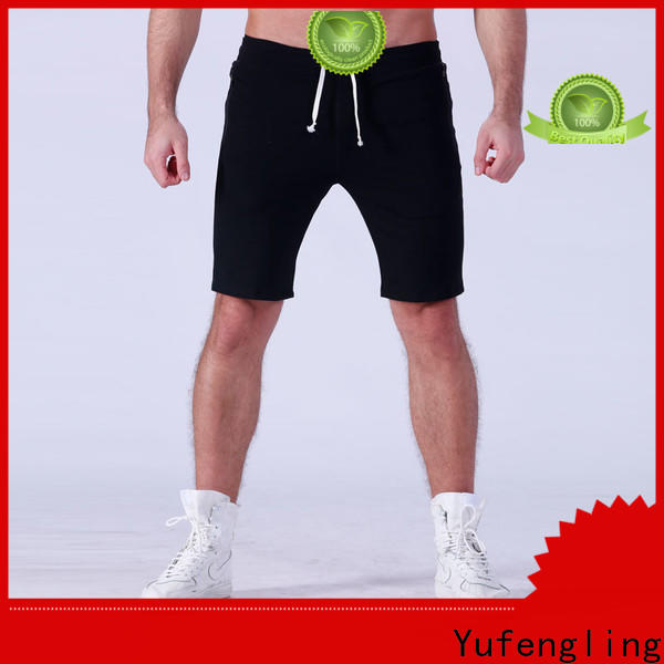 Yufengling durable gym shorts men supplier