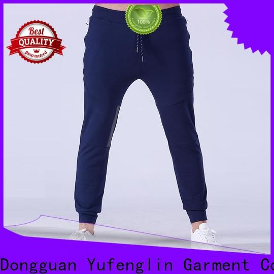 Yufengling sports mens joggers wrinkle free