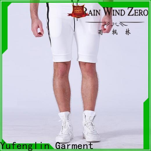 Yufengling cotton gym shorts men manufacturer gymnasium