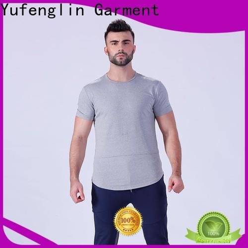 Yufengling bodybuilding fitness t shirt in different color