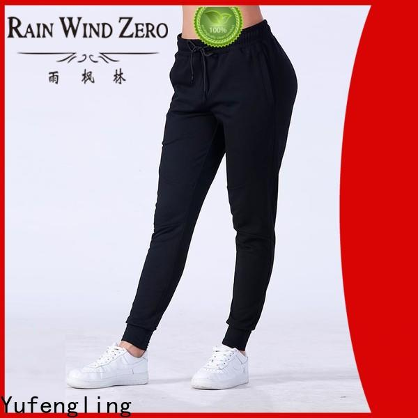 Yufengling casual jogger pants  manufacturer gym shorts