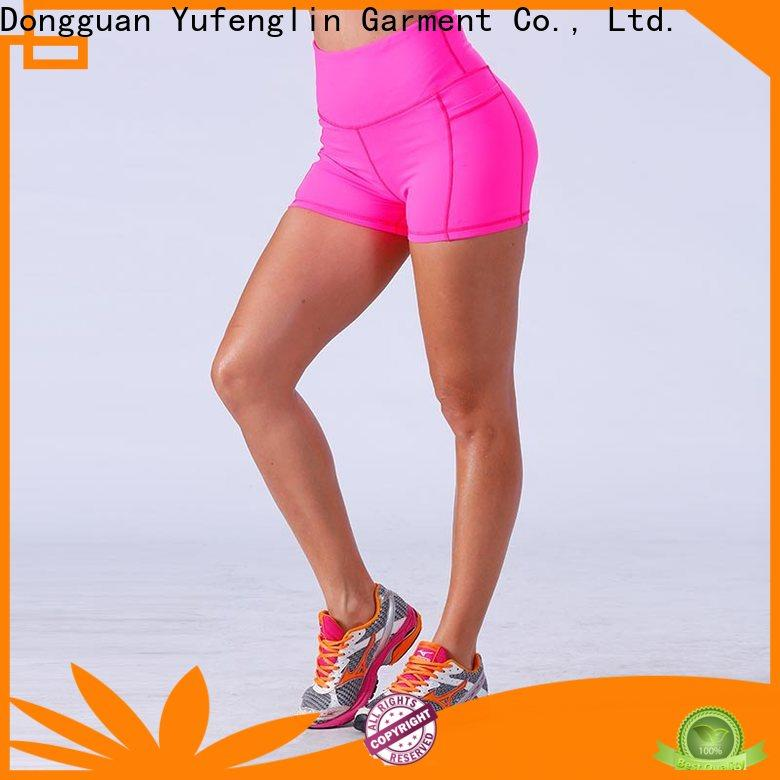 comfortable womens sports shorts yogawear wholesale suitable style