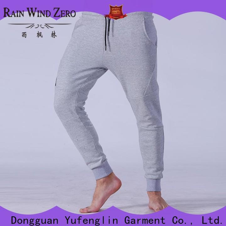 Yufengling plain best jogger pants mens gym shorts fitness centre