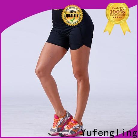 Yufengling magnificent athletic shorts womens wholesale yoga room