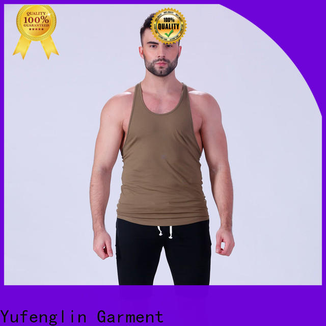 Yufengling muscle bodybuilding tank tops wholesale for sports