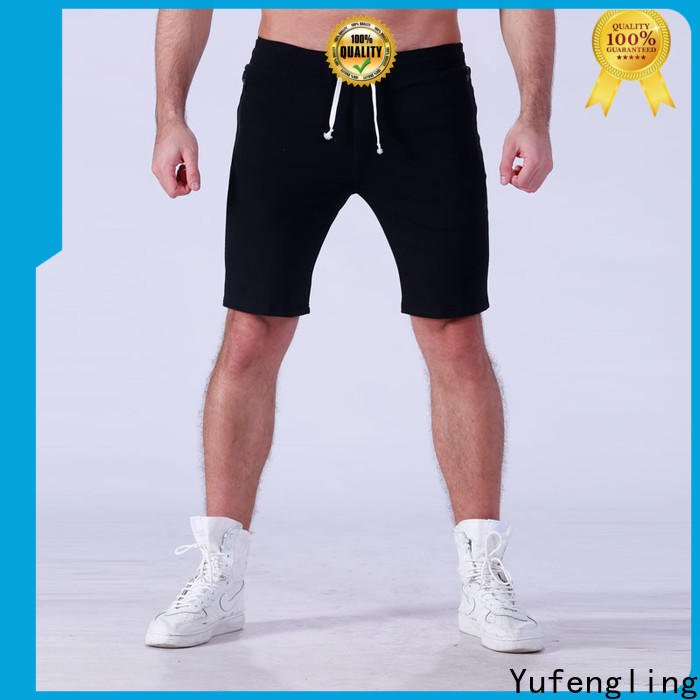 Yufengling high-quality gym shorts men for-mens fitness centre