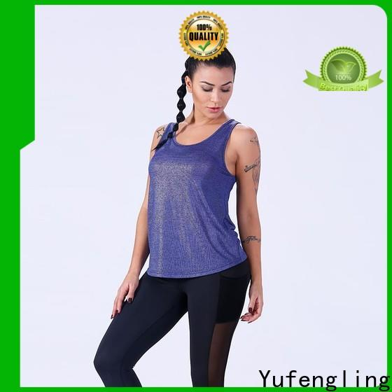 Yufengling new-arrival female tank top for-running workout