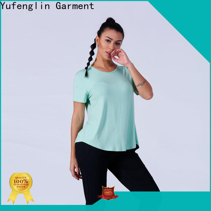Yufengling sport ladies t shirt manufacturer suitable style