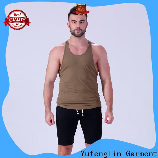 Yufengling fit custom tank tops sleeveless in gym