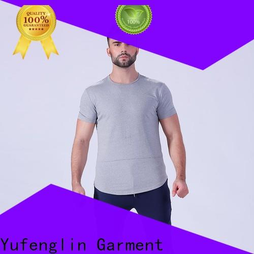 new-arrival workout t shirts mens clothing in different color