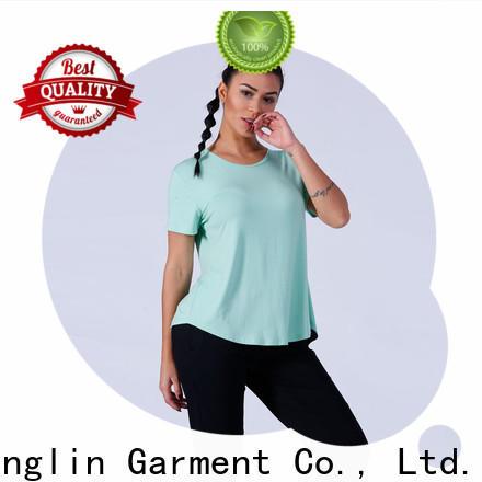 lovely ladies t shirt yfltp01 for-mens colorful