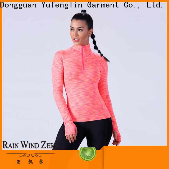 Yufengling casual women's t shirts fitting-style for training house