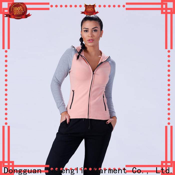 Yufengling comfortable ladies hoodies sports-wear workout