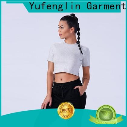 Yufengling sports gym t shirts for ladies casual-style for training house