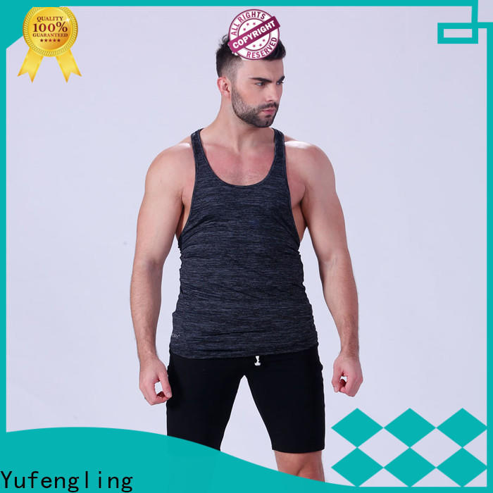 Yufengling tank mens tank tops tranning-wear for sports