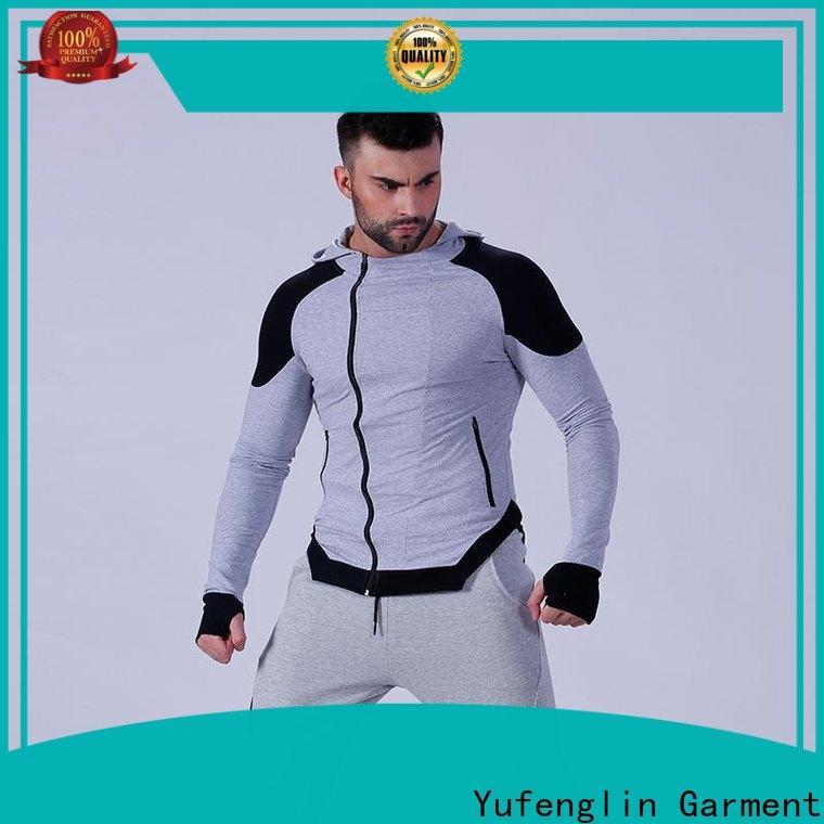 Yufengling hot-sale best hoodies for men tranning-wear in gym