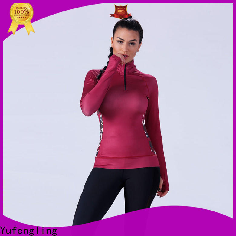 Yufengling sport female t shirt manufacturer suitable style