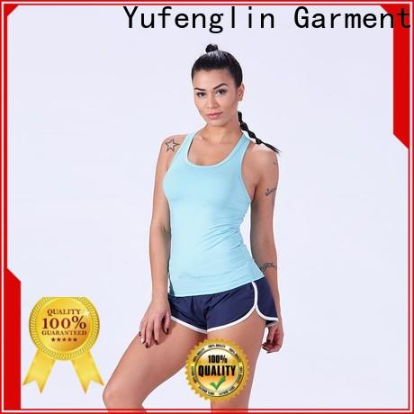 Yufengling dry female tank top fitting-style yogawear