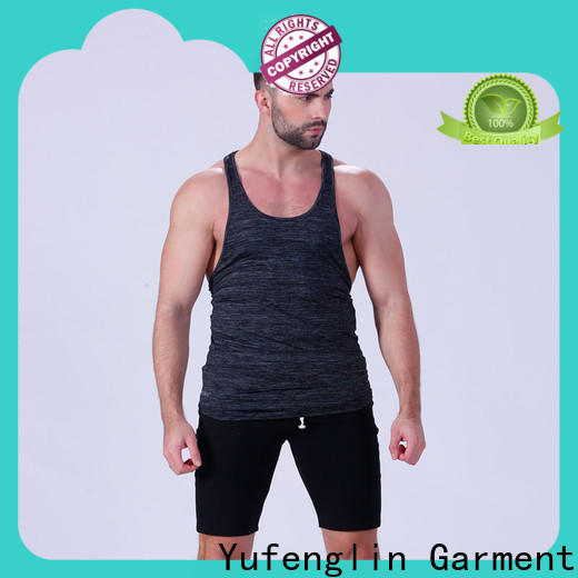 stunning mens muscle tank solid fitting-style
