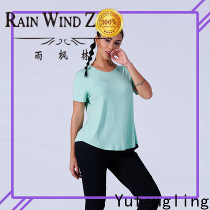 Yufengling shirts gym t shirts for ladies in different color