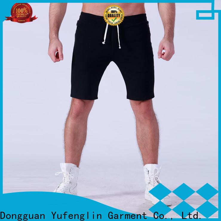 Yufengling high-quality mens athletic shorts o-neck gymnasium