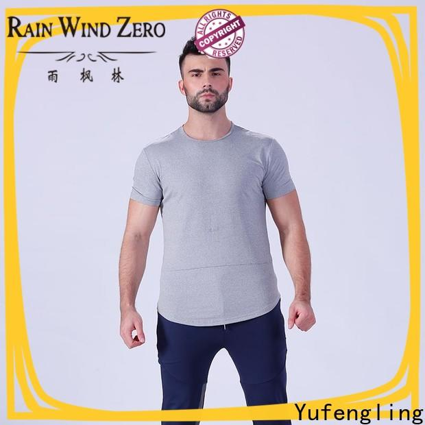 Yufengling clothing fitness t shirt supplier