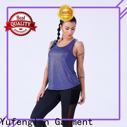 Yufengling hot-sale ladies tank tops yoga wear for trainning