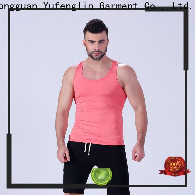 Yufengling stringer mens muscle tank tranning-wear gymnasium