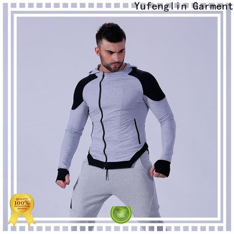 Yufengling magnificent mens hoodie workout for jogging