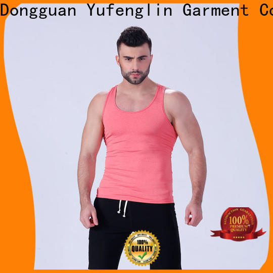 alluring gym tank tops mens sleeveless sporting-style for trainning