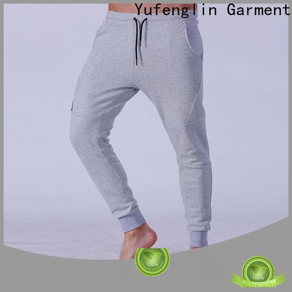 fashion mens jogger pants fit breathable for sporting