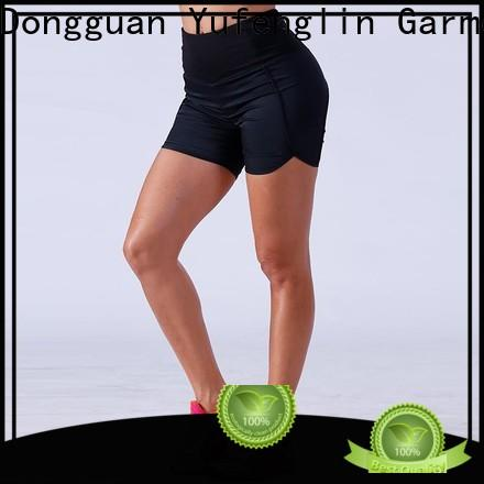 Yufengling exquisite womens workout shorts sporting-style yoga room