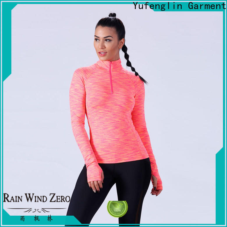 Yufengling comfortable ladies t shirt manufacturer for training house